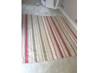 Laura Ashley Striped Curtains - 4 Pairs Available