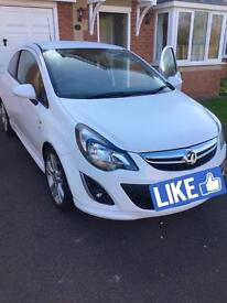 Vauxhall Corsa 2014 SXI 1.2 Petrol Engine 36000 miles approx