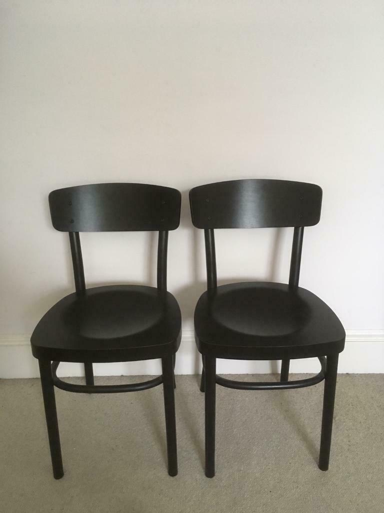Groovy 2 Black Ikea Idolf Dining Chairs In Hove East Sussex Gumtree Alphanode Cool Chair Designs And Ideas Alphanodeonline