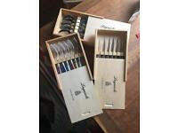 Steak cutlery set laguiole