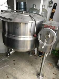 30 gallon stainless steel kettle