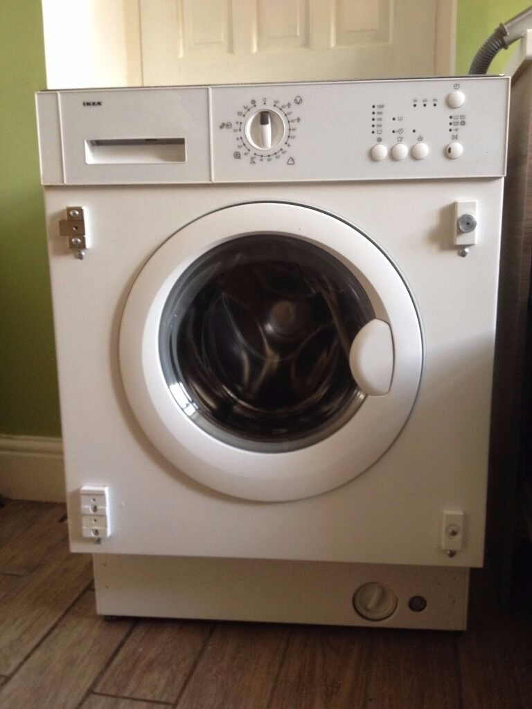 ikea integrated washing machine in sheffield south yorkshire gumtree. Black Bedroom Furniture Sets. Home Design Ideas