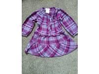 Girls dress 2-3 tartan dress