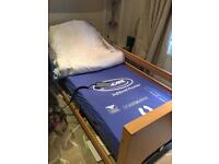 Electric single medical bed