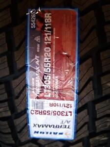 BRAND NEW SET of LT305/55R20 SAILUN TERAMAX 121/118R  for sale