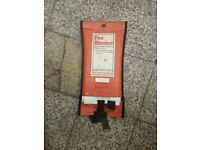 Fire blanket - ideal for commercial kitchen setting