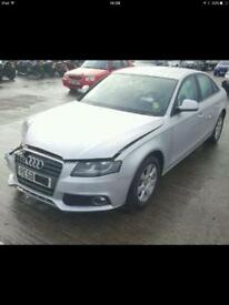 2010 Audi a4 parts breaking bcg silver