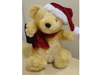 SINGING CHRISTMAS TEDDY - IN NEED OF NEW HOME