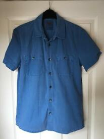 Mens Levis Short Sleeved Shirt - S