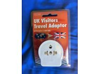UK Visitor Travel Adaptor (New)