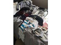Bundle of medium size adult clothes