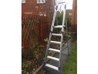Step Ladder - good quality - 6 treads