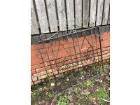 Wrought Iron Garden Gate / Pedestrian Gate - WR