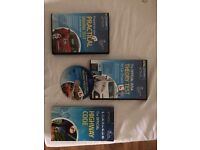 Theory hazered and highway code book & dvd