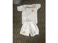 White Bangor Grammar PE Kit (shirt and shorts)