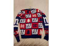 New York Giants Christmas Jumper