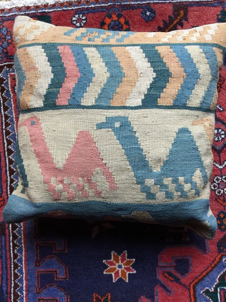 ETHNIC CAMEL CUSHION COVER AND INNER CUSHION