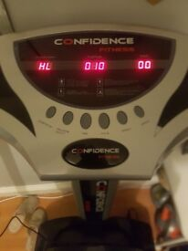 Confidence fitness pro vibration plate - open to offers