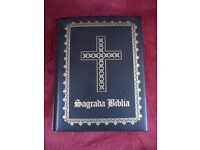 THE HOLY BIBLE. NEW EDITION OF GUADALUPE. BY FELIX TORRES AMAT. YEAR 1965