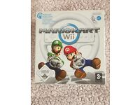 Mario Kart Game & Wheel for Nintendo Wii