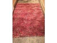 Large wool rug by next