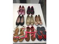 Various Girls shoes -excellent condition
