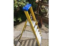 WERNER 6-TREAD Heavy Duty Step ladder ++NEW++