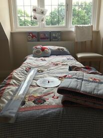 Trucks and Tractors Boys Bedroom Set. Immaculate condition including all shown