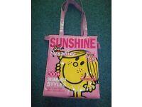 miss sunshine plastic bag