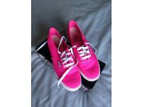 Vans (Bright Pink) Ladies size 5