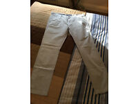 """Men's Next's Slim Fit Chinos in Light/Powder Blue Size waist 36"""" 32"""" Leg A1 Condition! Very Cool!"""