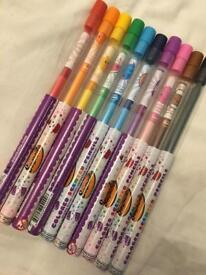 Coloured Scented Pencils