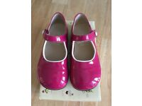 3 pairs of excellent condition girls shoes = start rite, max+may and clarks