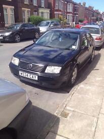 2000 VW Bora Sport 1.9 TDI (NOT GOLF, PASSAT, LEON, JETTA, SEAT, SKODA)