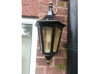 Victorian Style outdoor Wall Lights x2