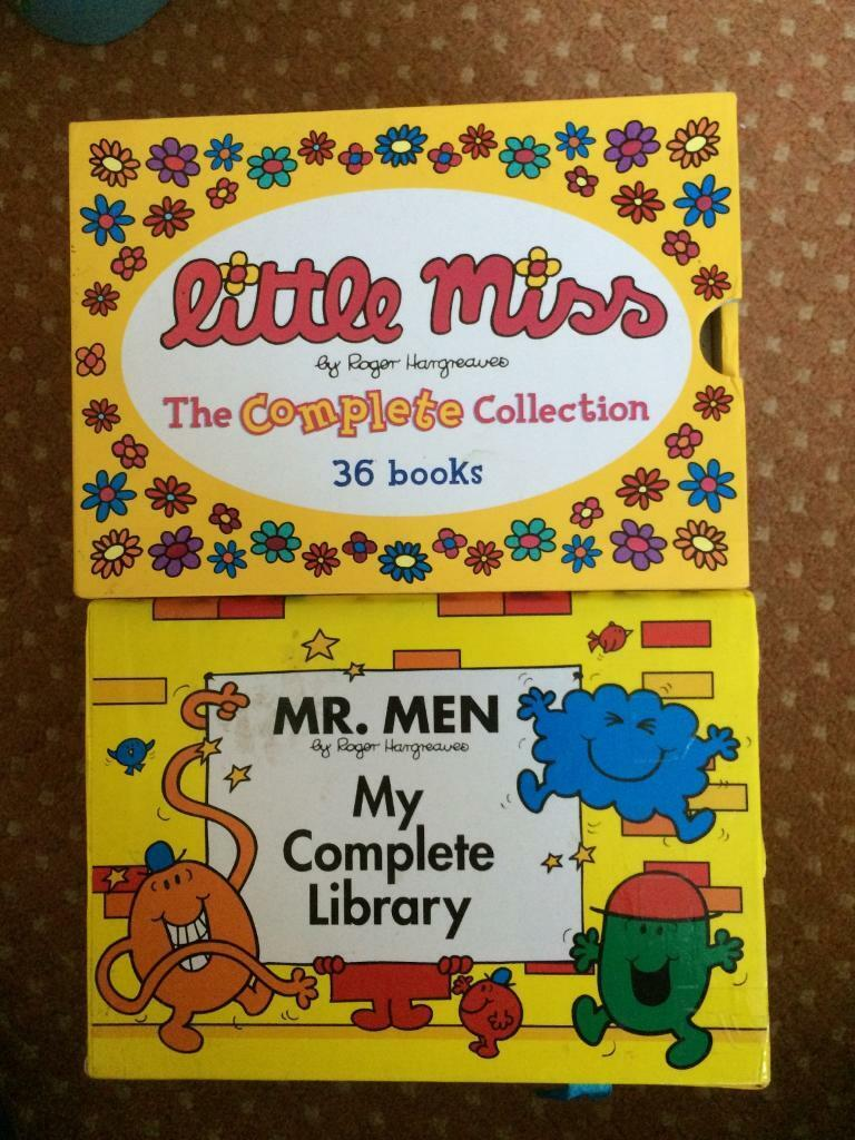 Mr Men & Little Miss book collections