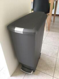Simple human dust bin kitchen rubbish bin £40 Argos