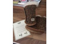"Ugg boots size small ""6-12months"""