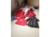 Large selection of childrens clothing