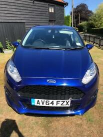 Ford Fiesta Zetec S, 1.6 Tdi, FSH, new MOT, £0 tax!