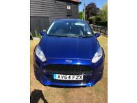 Ford Fiesta Zetec S, 1.6 Tdi, FSH, new MOT, £0 tax!
