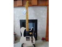 FENDER SQUIER CLASSIC VIBE 50's TELECASTER VINTAGE BLONDE NEW WITH TAGS RRP £436