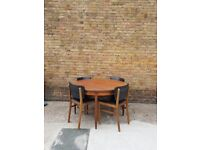 Mid Century Retro Extending Table Chairs by G Plan