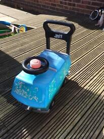 Blue ride on toy