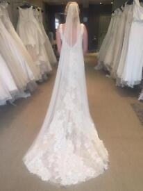 Wedding dress- Pronovias (Charise) size 10-12
