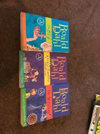 Ronald Dahl books