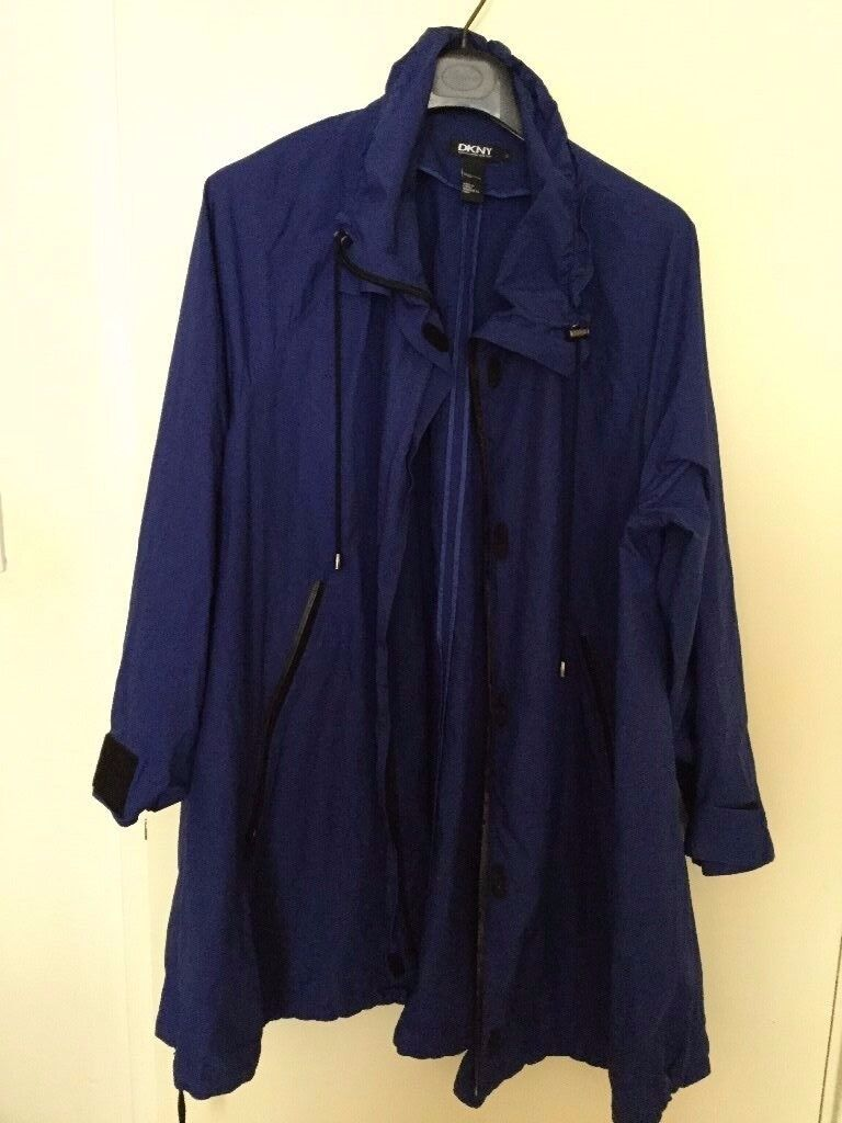 DKNY blue jacket only £25 in great condition Size 12-14