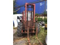 MANITOU FORKLIFT 2540 cc DIESEL 3501kg, 2 AXLE RIGID BODY NO VAT