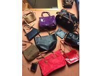 Various handbags including Ben de Lisi & Jane Shilton