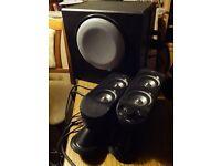 Computer speaker set